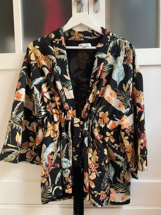 Kimono estampado zara tfr