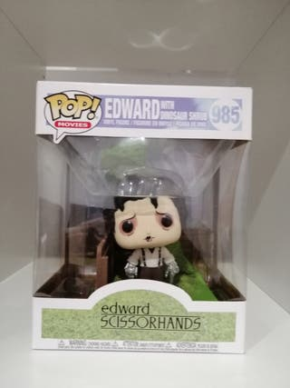 Funko pop Edward with dinosaur