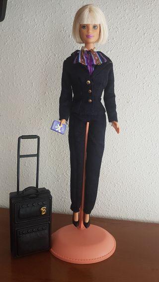 Barbie azafata colección