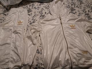 chándal blanco Adidas