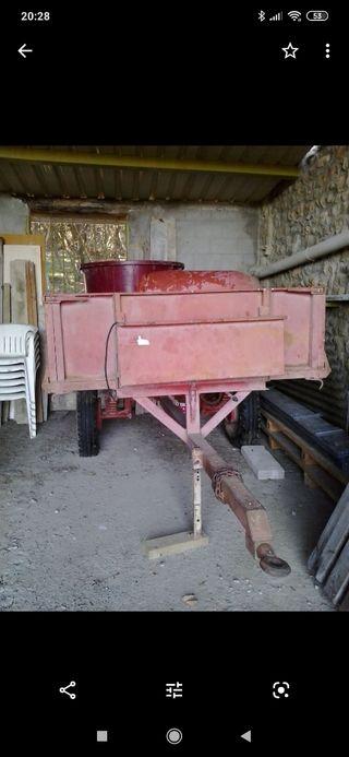 VENDO REMOLQUE 2500kg