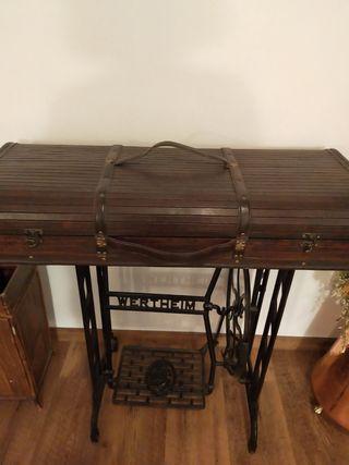 Pie antiguo maquina de coser