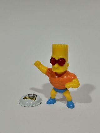 Lote juguetes Los Simpson Superhéroes