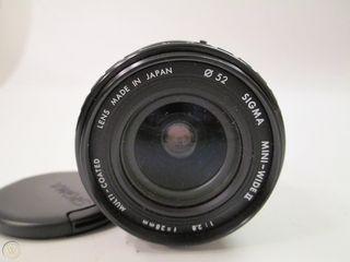 Sigma MINI-WIDE II 28mm 1:2.8 Macro