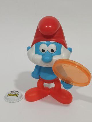 Lote juguetes Pitufos Grandes
