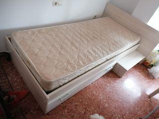 Cama + colchón