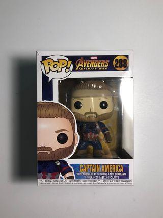 Muñeco pop Capitán America