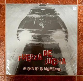 FUERZA DE LUCHA -Ahora Es El Momento- LP Vinilo