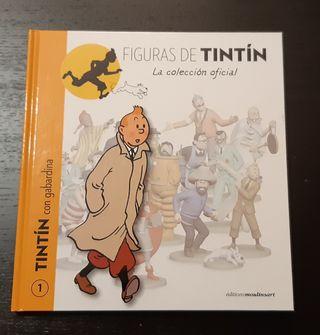 Libro Figuras de Tintín