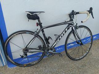 Bicicleta Scott carbono