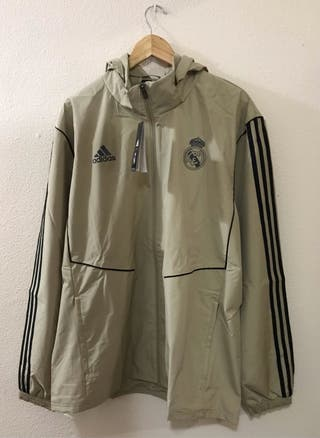 Chaqueta impermeable del Real Madrid