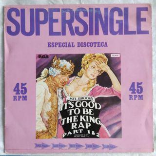 "Mel Brooks - It's Good To Be The King Rap (12"")"