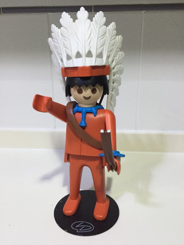 Playmobil leblon delienne jefe indio