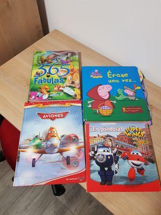 Libros infantiles (4 Unidades)