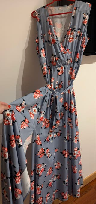 Vestido floral de veryvoga