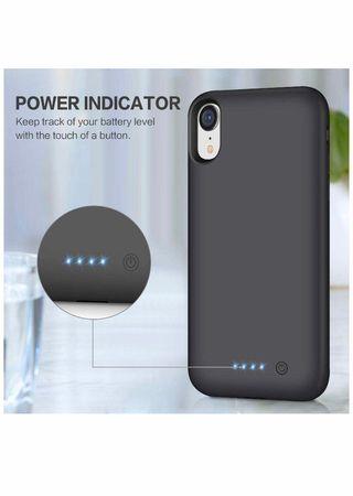 Funda Bateria para iPhone XR, iPosible [6800maH]