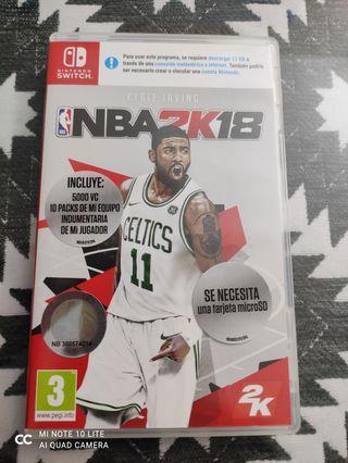 NBA2K18 Switch