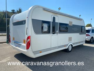 caravana hobby 560 aire-mover-toldo-nevera 150lts