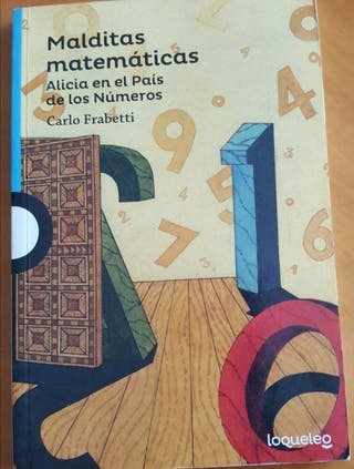libro de lectura.las malditas matemáticas.