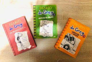 """Libros """"Diario de Greg"""""""