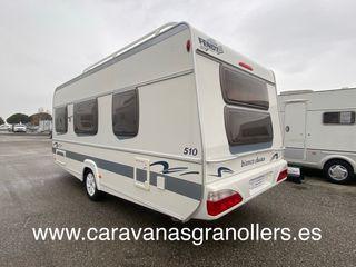 caravana fendt bianco 510