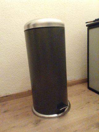MJÖSA IKEA Cubo de basura, gris oscuro30 l