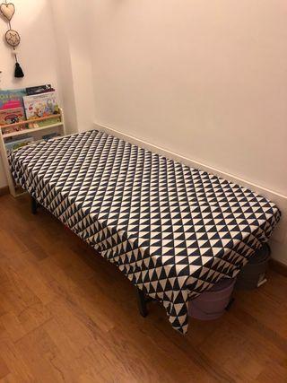 Somier y colchón cama de 90