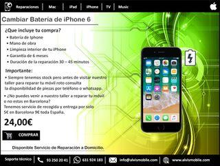 Cambio de Batería iPhone 6 - Tienda