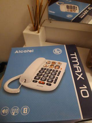 Teléfono fijo Alcatel Tmax10