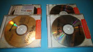 Microsoft Works Suite PC 8 discos