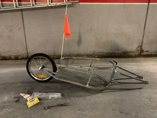 Remolque porta bultos para bicicleta