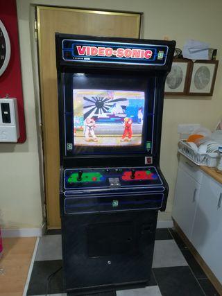 """Maquina Recreativa Arcade Video Sonic original 25"""""""