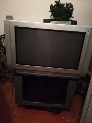 TV PANASONIC + MUEBLE