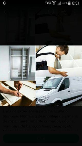 montador i instalador de muebles puertas,cocinas..