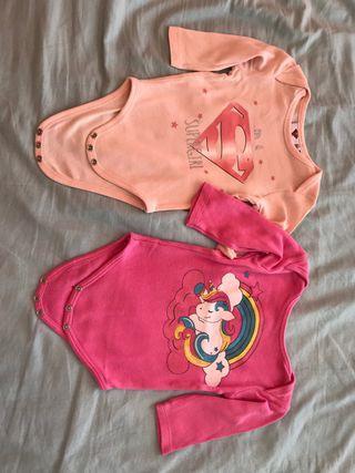 Bodies niña 9 meses