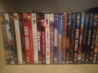 colección películas en DVD