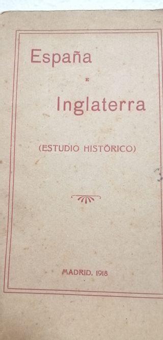 1918 España Inglaterra Estudio histórico