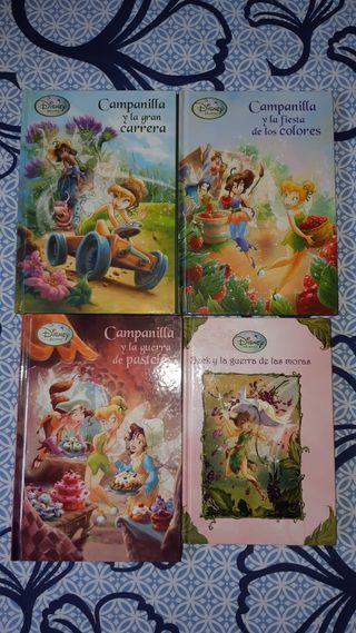 Pack de libros de Campanilla