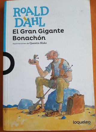 el gigante bonachón. libro de lectura