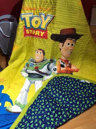Colcha edredón toy story