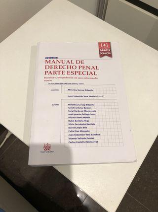 Manual de Derecho Penal. Parte especial.