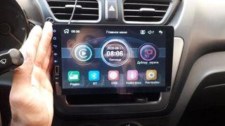 pantalla táctil nueva para coche instalada usb