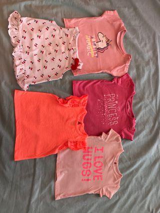 Camisetas niña 9 meses