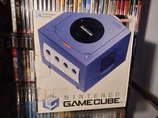 Gamecube completa violeta