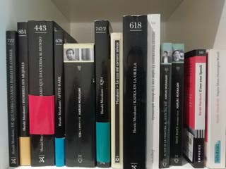 Haruki Murakami 12 titulos