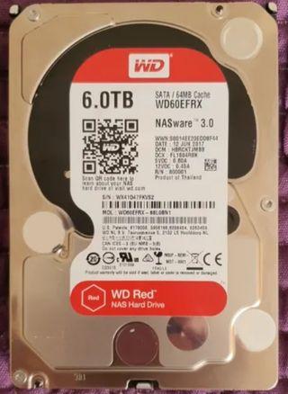 Western digital Red Nas 6 Tb
