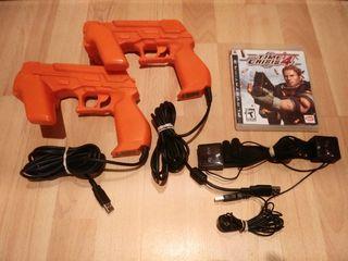 Time crisis 4 con 2 pistolas ps4