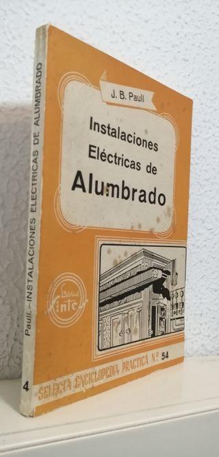 1953 Instalaciones eléctricas de alumbrado