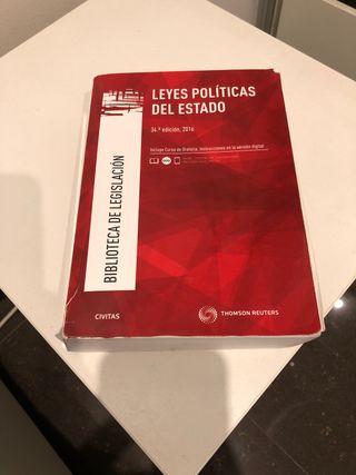 COMPILACIÓN DE LEYES POLÍTICAS DEL ESTADO