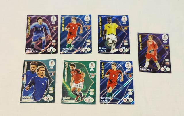 Trading Cards Adrenalyn FIFA World Cup Russia 2018